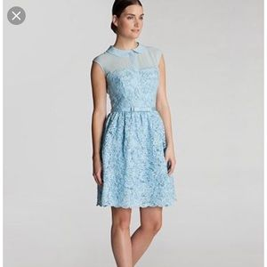 Ted Baker fit and flare lace dress